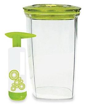 Vacuum seal storage container